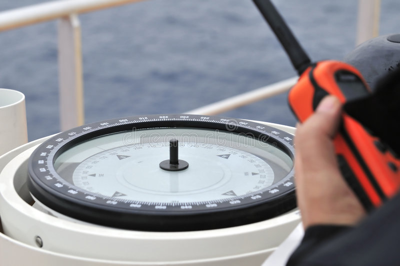 the ship's compass